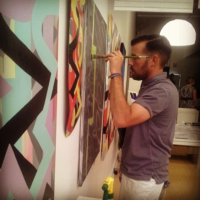 Seth painting, germantown, maryland