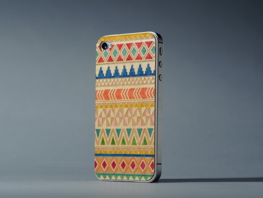 Tribal phone case, Carved, elkhart indiana