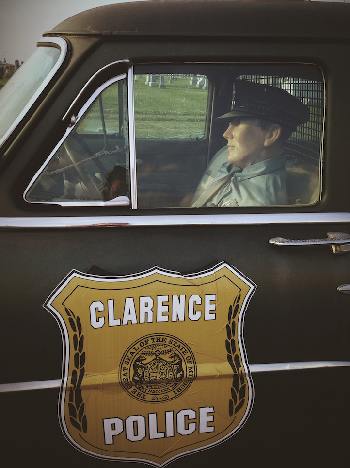 Sheriff car, clarence, missouri