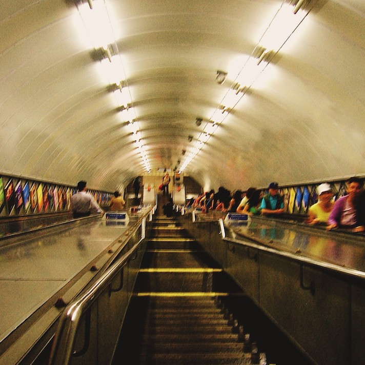 Underground, London, England