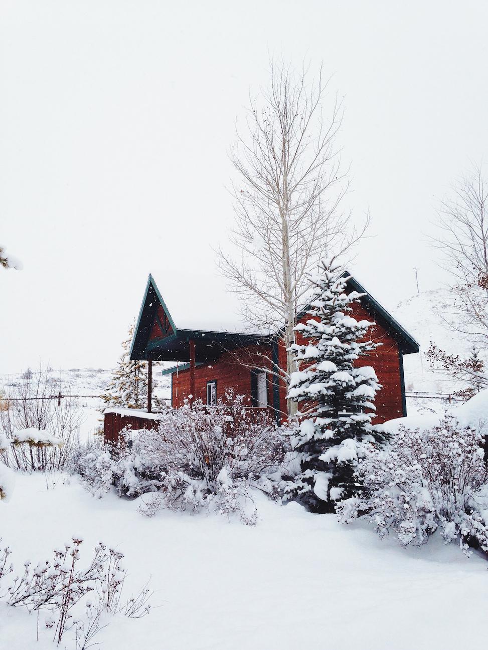 Bryan's cabin, jackson, wyoming