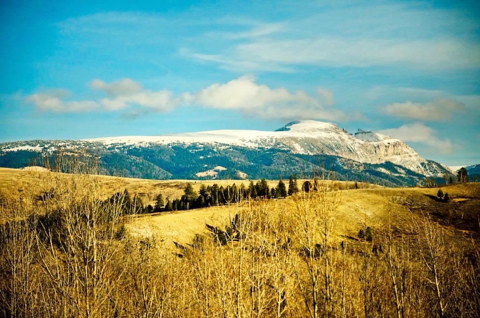 Sleeping Indian, Jackson Hole, Wyoming