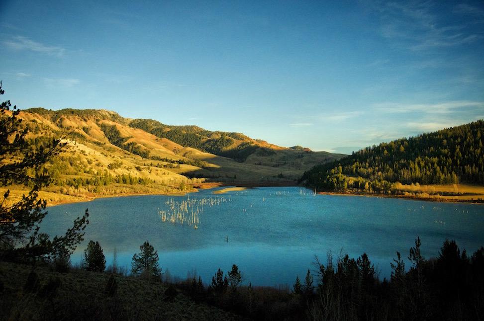 Slide Lake, Jackson Hole, Wyoming