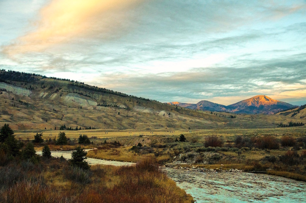 Gros Ventre mountains, Jackson Hole, Wyoming