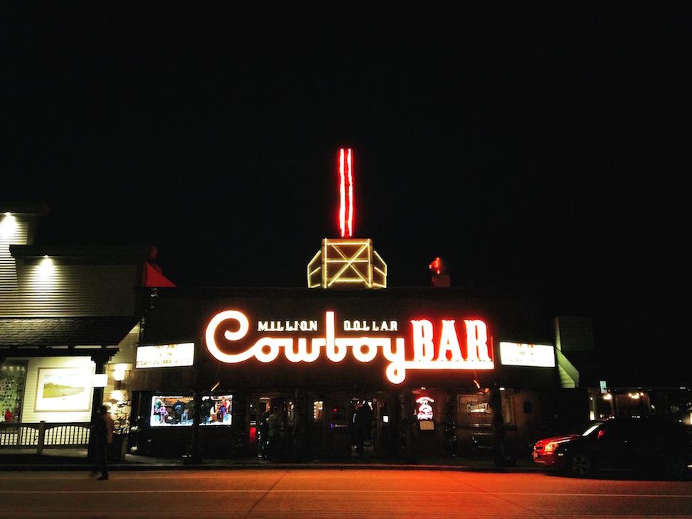 Million Dollar Cowboy Bar, Jackson, Wyoming