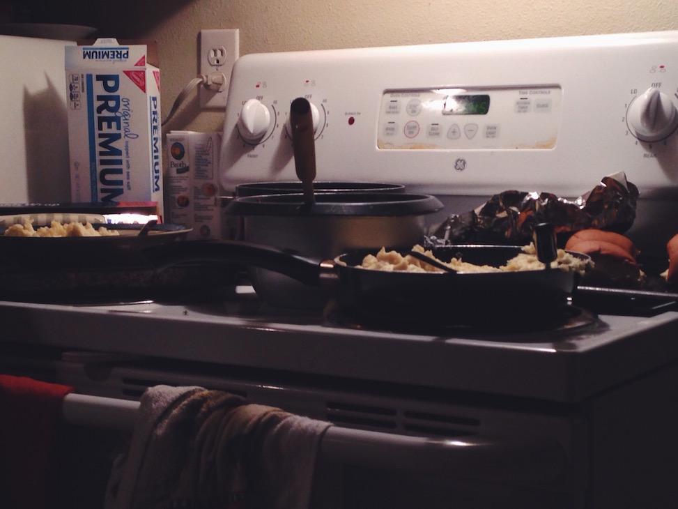 Thanksgiving aftermath, jackson, wyoming
