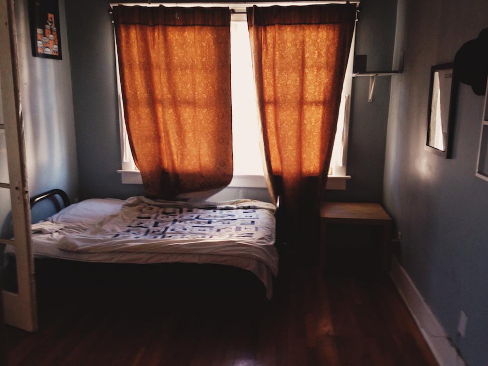 Bedroom, hoelzen house, phoenix, arizona