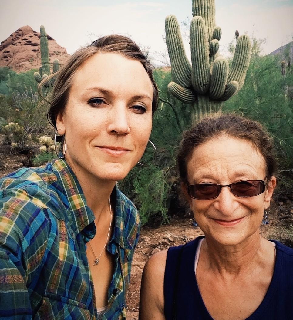 Me + Michele, Desert Botanical GArden, phoenix, arizona