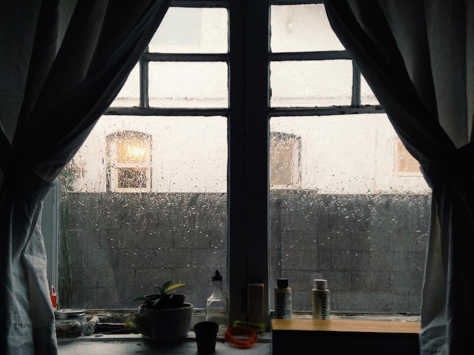 window, hoelzen house, phoenix, arizona