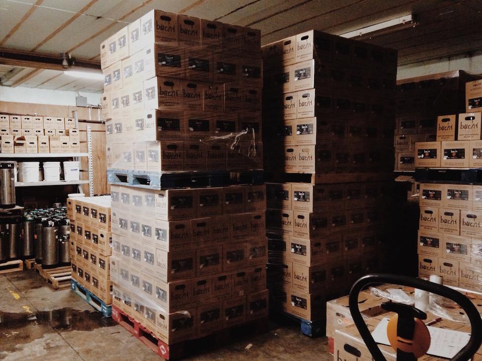 Buchi brewery, asheville north carolina