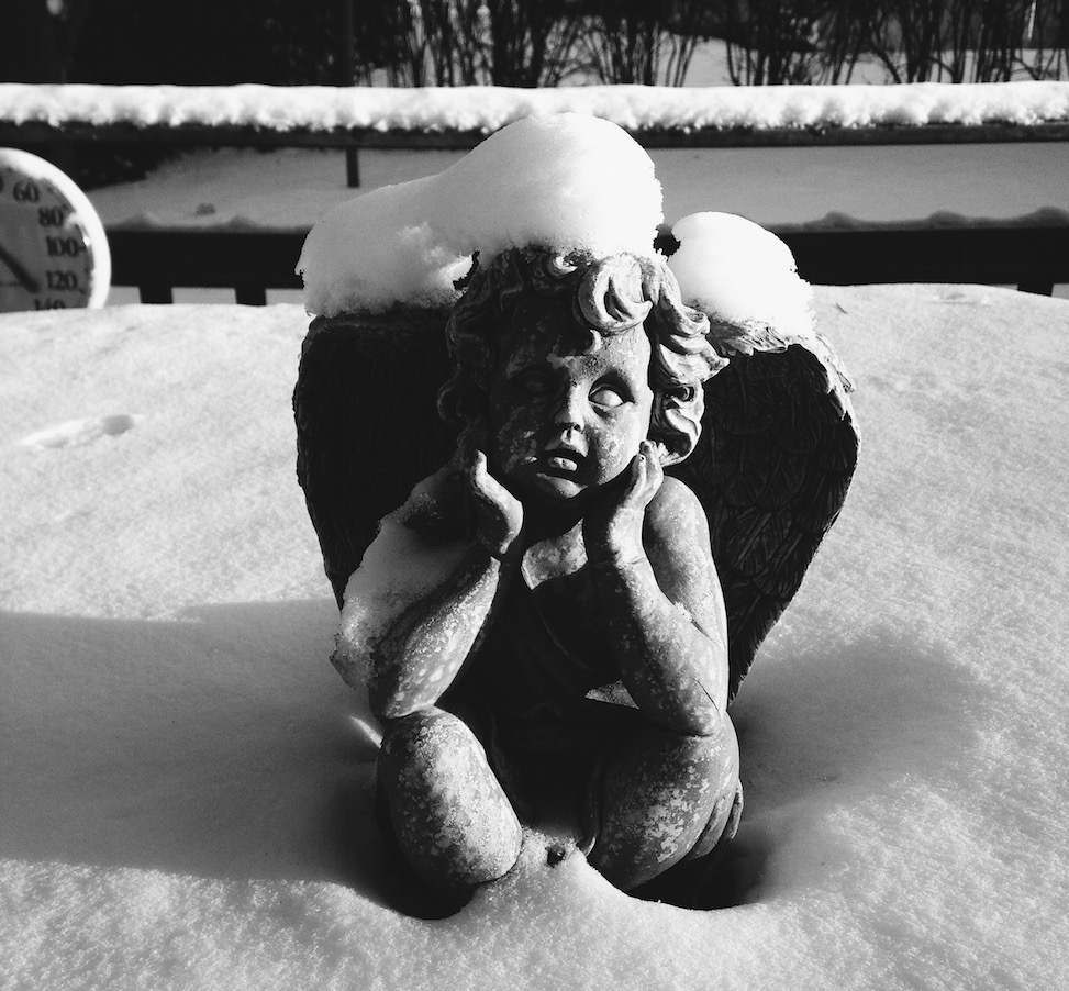 Snow angel, Saginaw, Michigan
