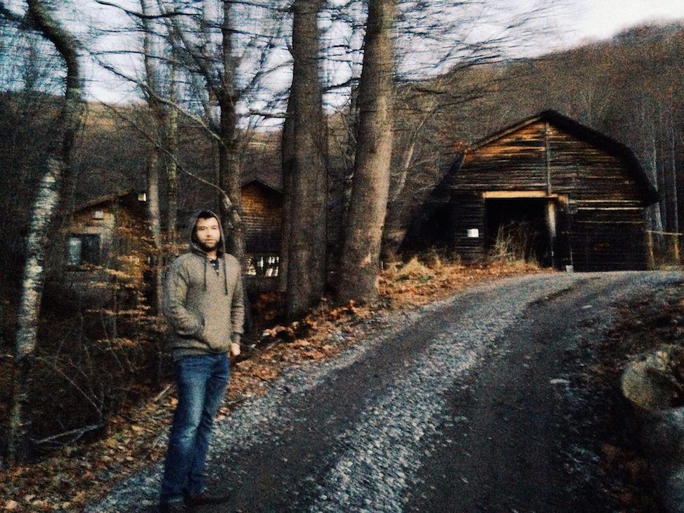 Mike at Buchi Compound, asheville, north carolina