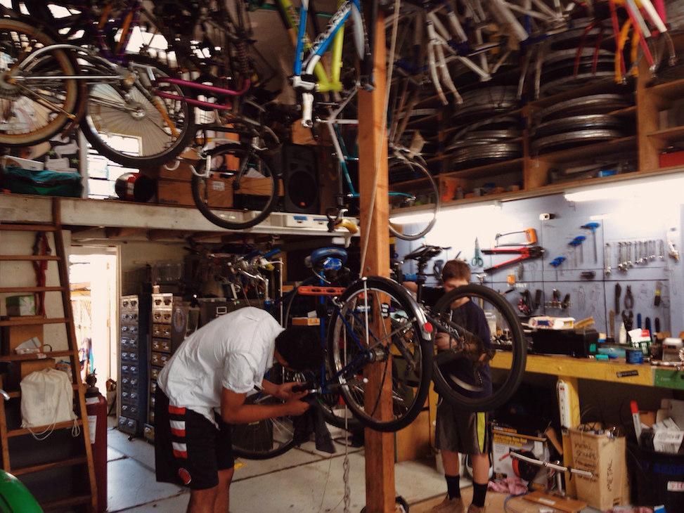 Bicycle Works, San Anselmo, California
