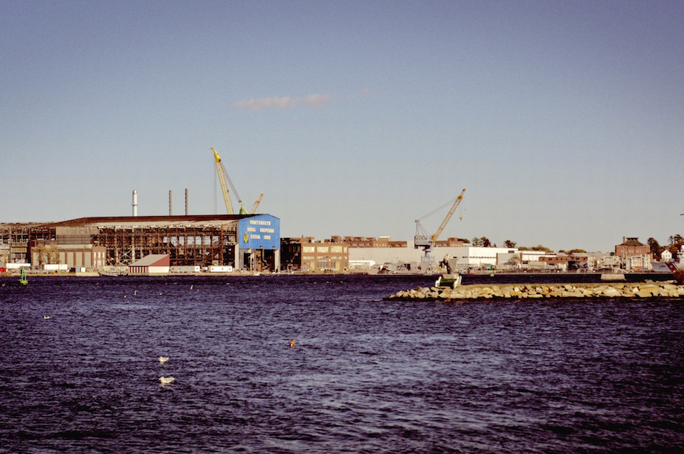 Navy yard, Portsmouth, New Hampshire