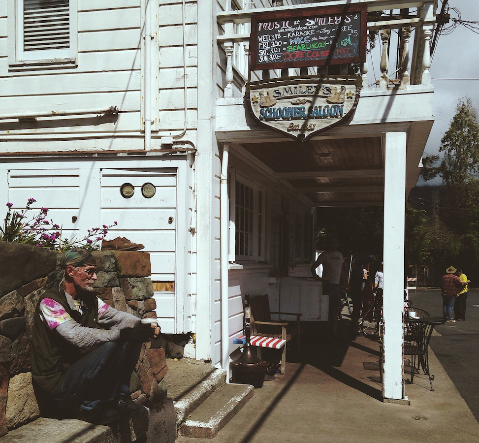 Smiley's, Bolinas, California