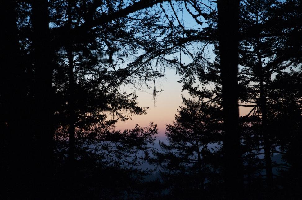Sunset, Lagunitas, California