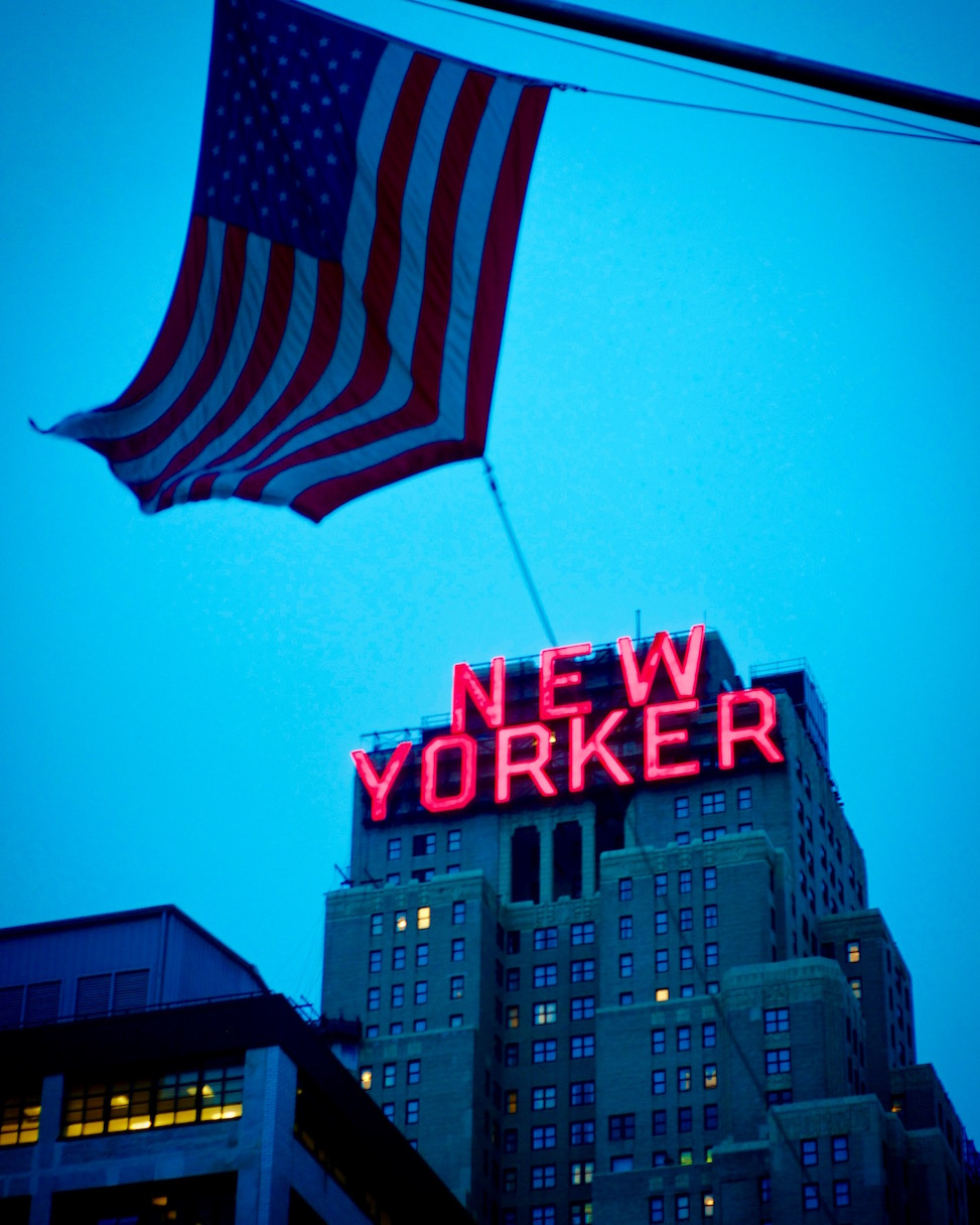 New Yorker building, Manhattan, New York