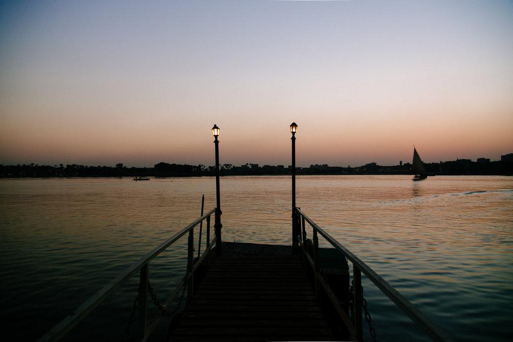 Boardwalk in Cairo