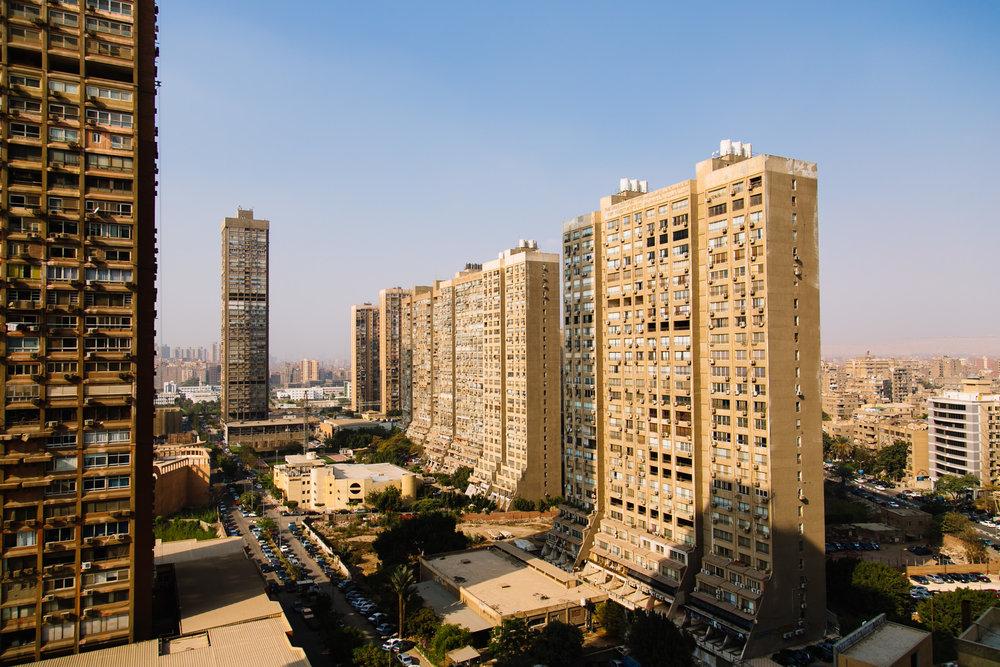 View from Maadi, Cairo