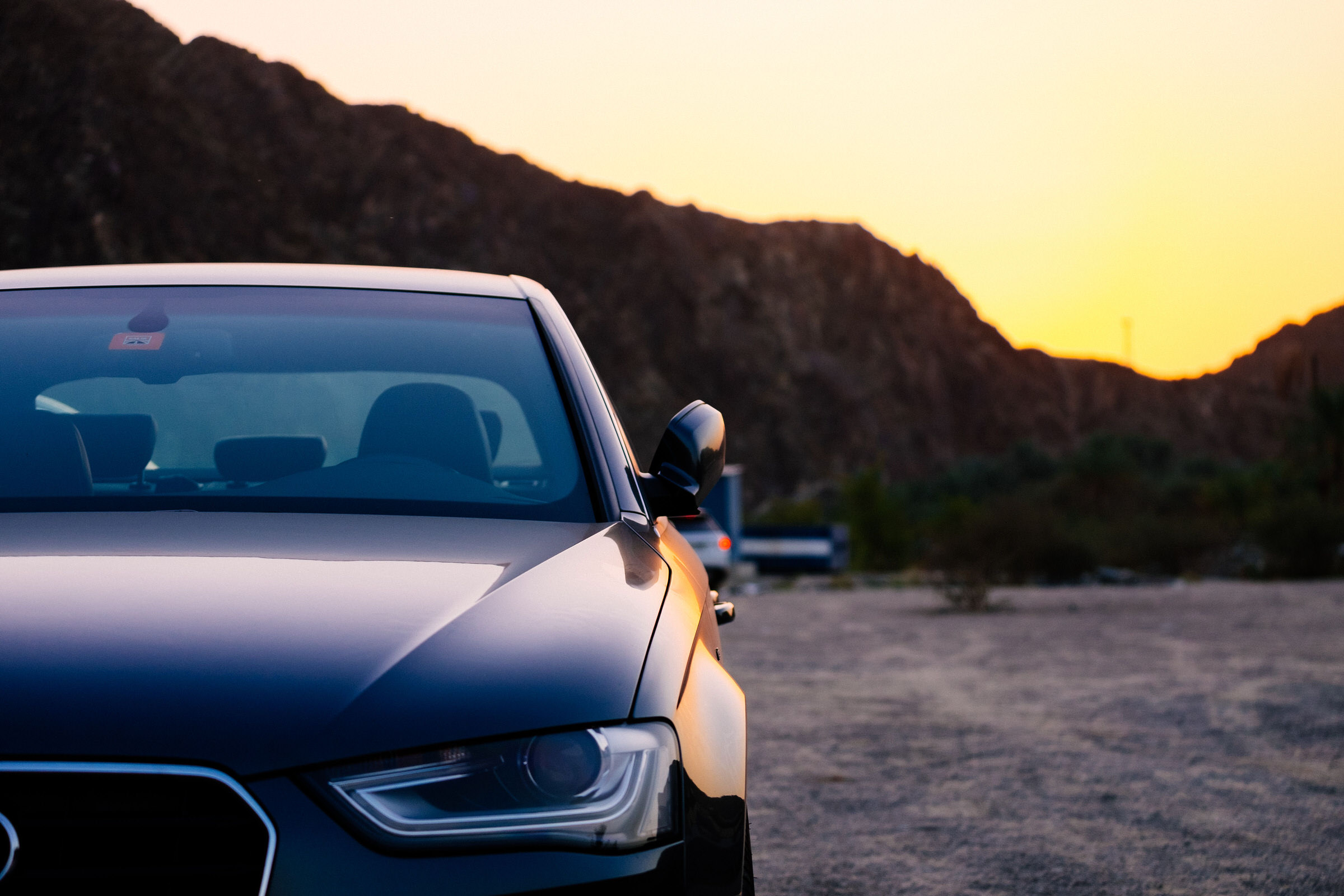 Audi A At Sunset Azeem Azeez - Sunset audi