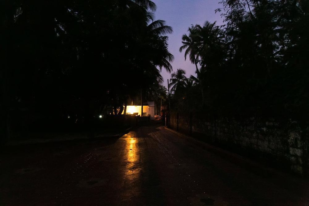 Dusk in Kerala