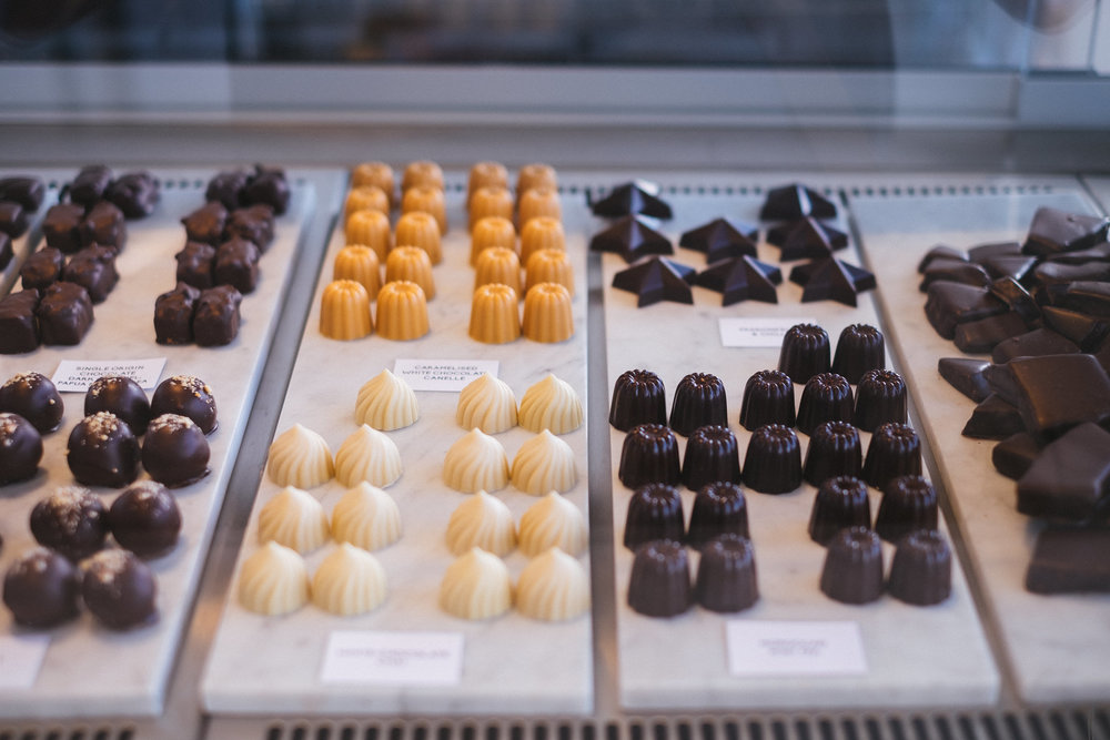 Some of Mirzam's famous chocolates