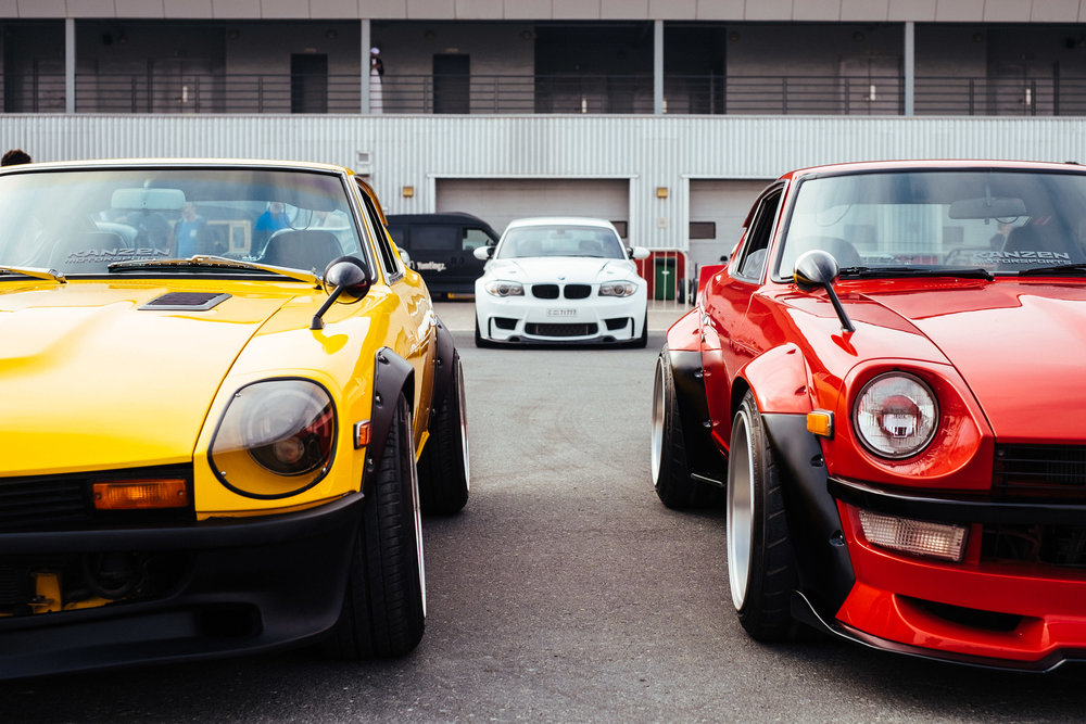I've always been a fan of the Datsun 240z/280z and it's good to see a few of them out in Dubai