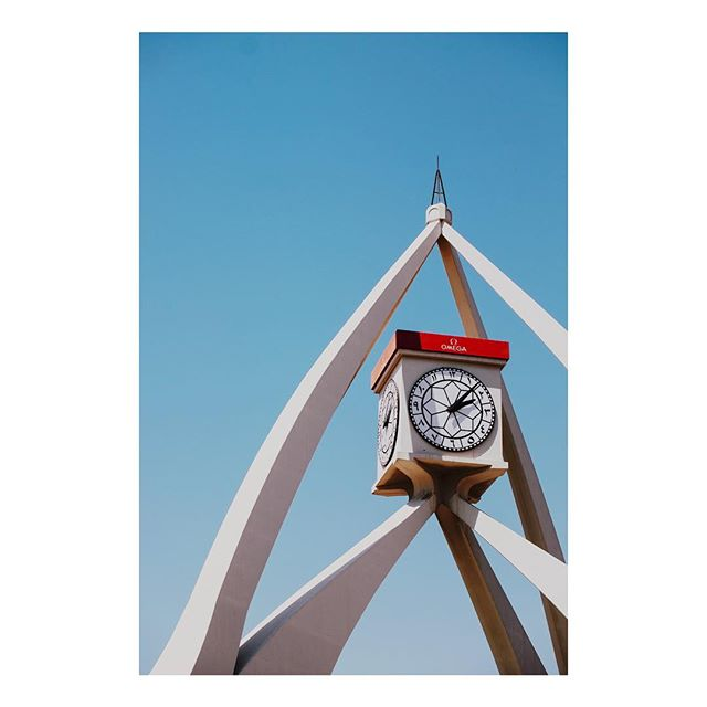 Deira Clocktower . . . . #deira #mydubai #dubai #clock #clocktower #nostalgia #igersdubai #igersuae #architecture #roundabout