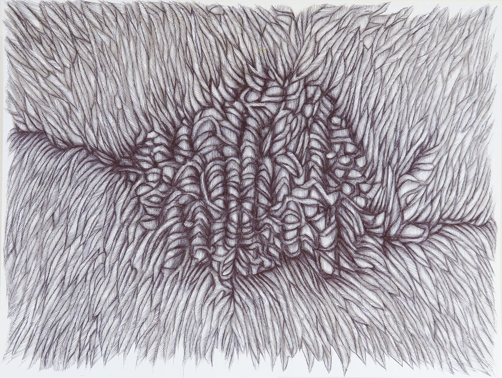 Drawing X, 2012, pen on paper, 24x32cm