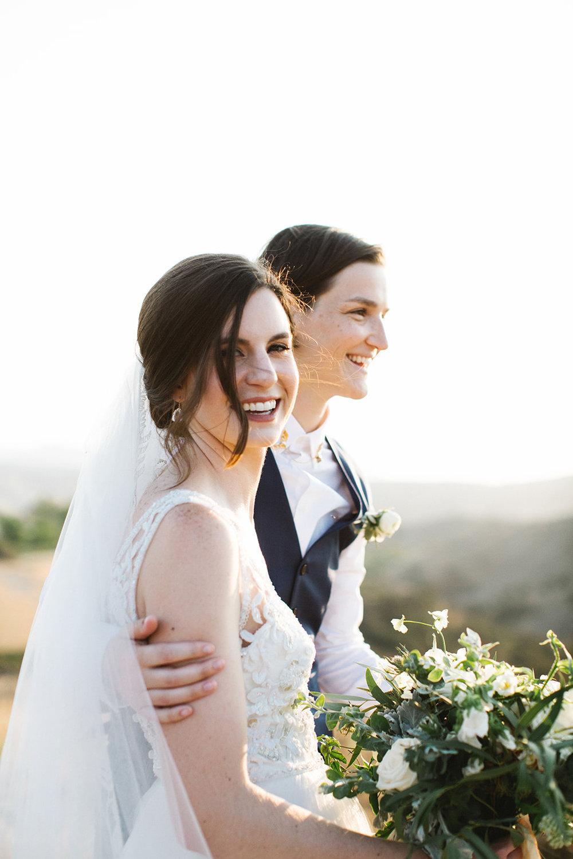 Same Sex Calfornia Wedding