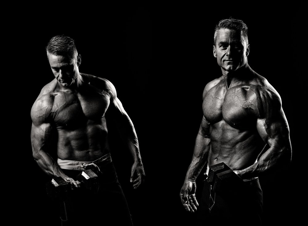 Jason Story Fitness Photography Session in Studio