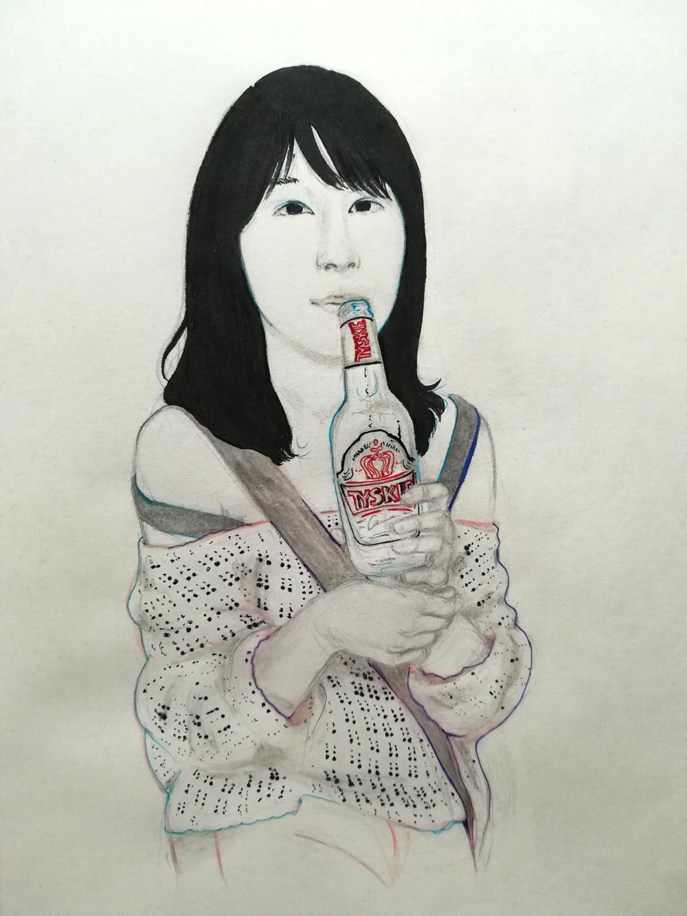 pen on paper 29 x 21 cm 2017