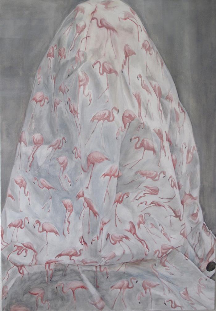 Flamingo Raincape