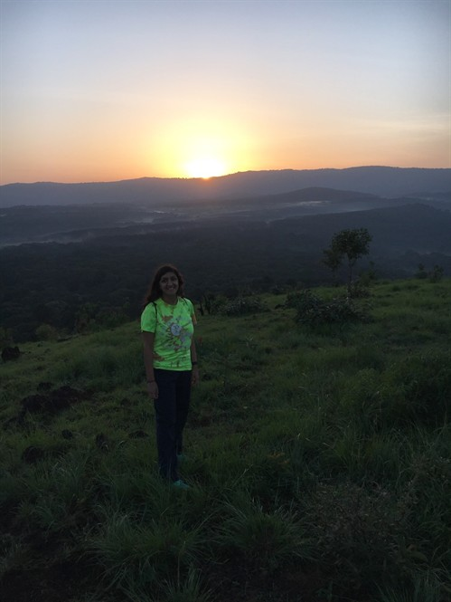 Sunrise hike at Kakamega Rainforest