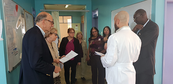 While at Moi Teaching and Referral Hospital (MTRH), leadership from the NIH saw both research and clinical programs.