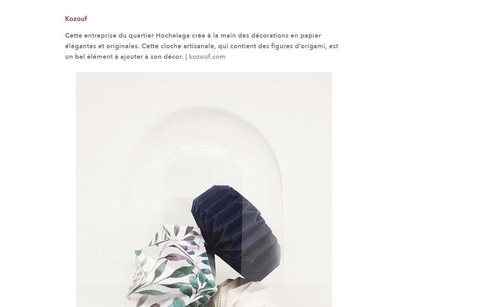 01-2018 | Bien Fait | Sélection Amour Du Papier