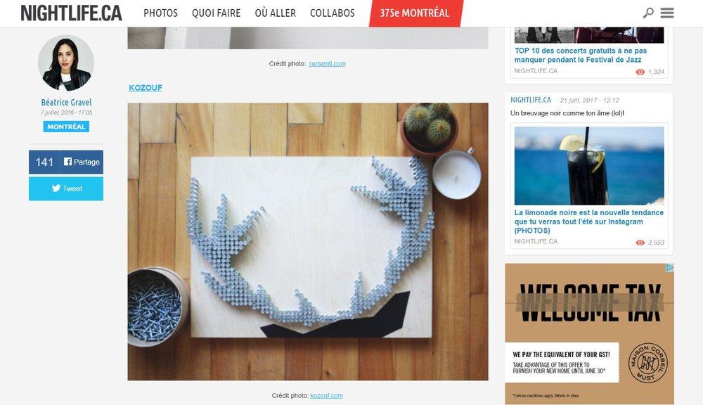 07-2016 | Nightlife | Sélection d'Artisans À Découvrir Au Marché Éphémère