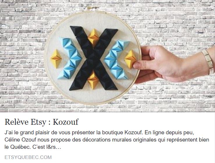 07-2016   Blog Etsy Québec   Kozouf
