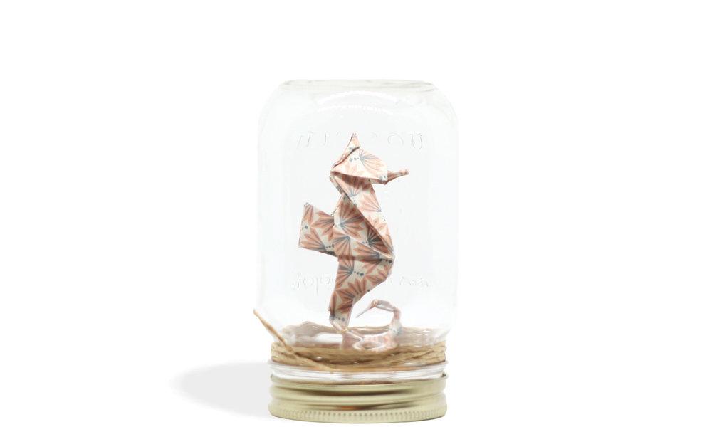 Seahorse Jar   24.95 $
