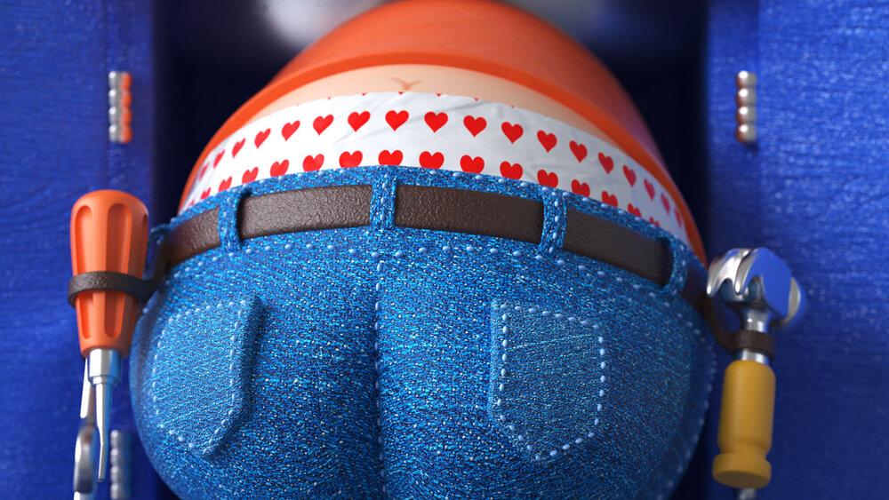 HASBRO E6553EU4 Plumber Pants Geschicklichkeitsspiel