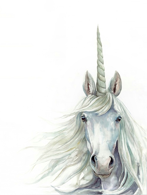 Unicorn Watercolor | ampersandmother.com