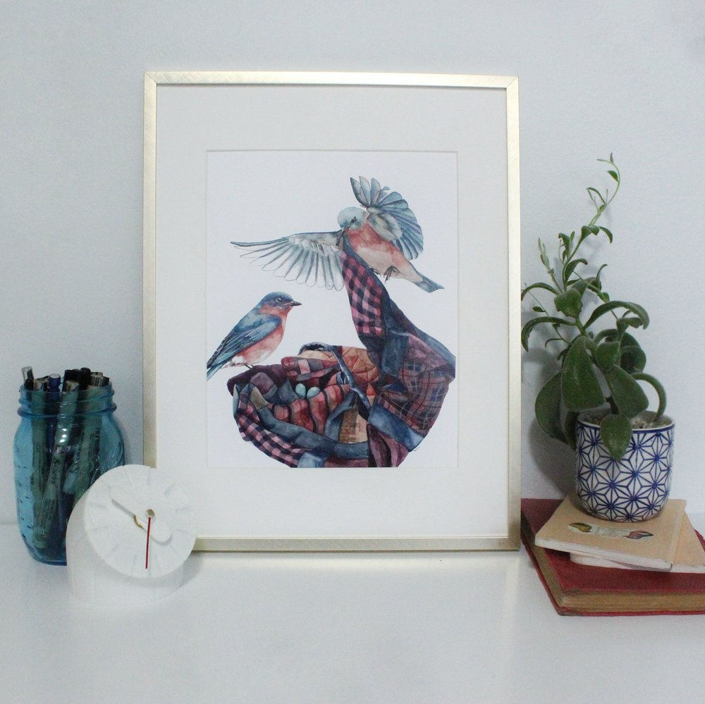 """Print of """"Making a Home"""" by Lauren Reese of Ampersand Mother"""