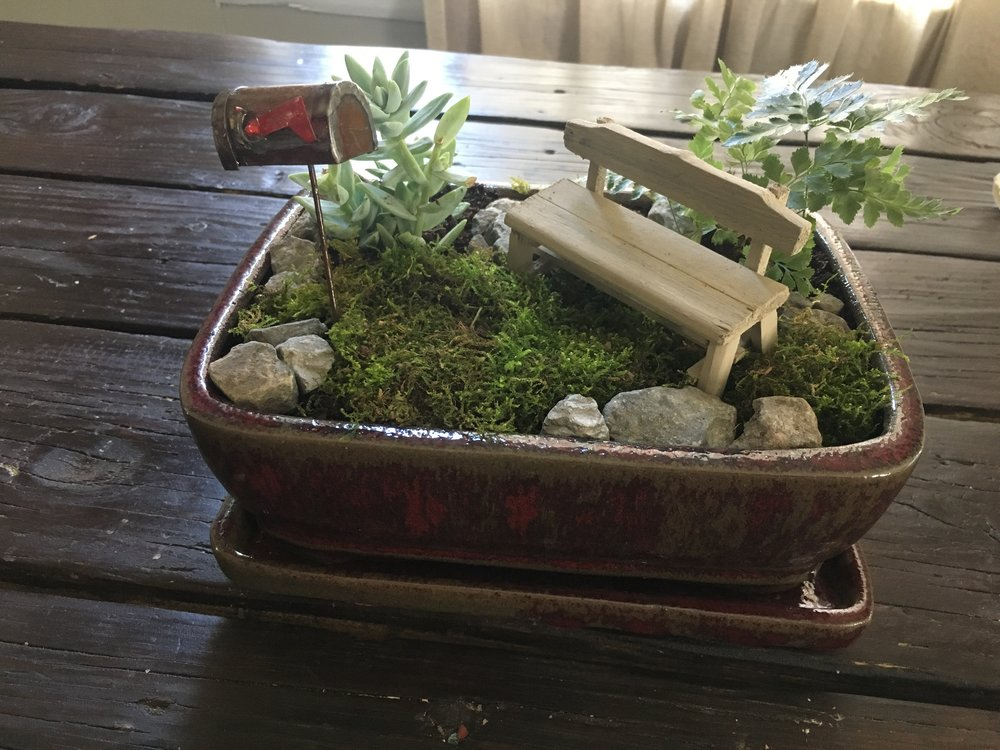 Fairy Garden DIY   Ampersandmother.com