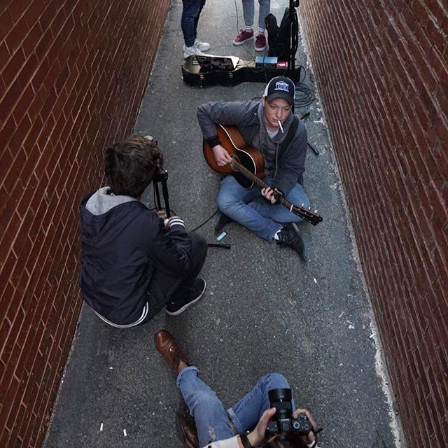 We've got a new video out. Live from a Boston alleyway — Courtesy of my amigos @discosdiablito — LINK IN BIO  #whiskeysunsetburst