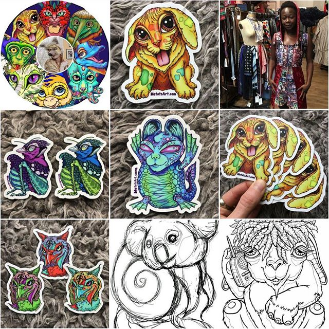 Thank you so much for following and liking the Metots #TopNine for this last year! We love that the results show a mix of #sketches #stickers #fashion and the #artvartist !  #topnine2018 #metotsart #vinyl #drawing #totem #mascot #cute #creature #cuteanimal #totemanimal #animals #animalillustration #animalart #bigeyes #creepycute #cuteandcreepy