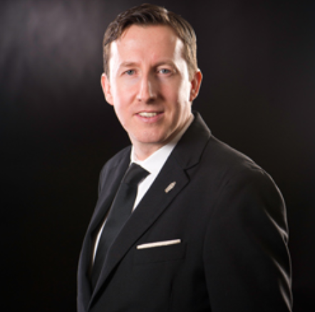 DECLAN MCGURKBar Manager of The Savoy, London -