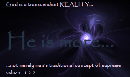 God is a Transcendant Reality.png