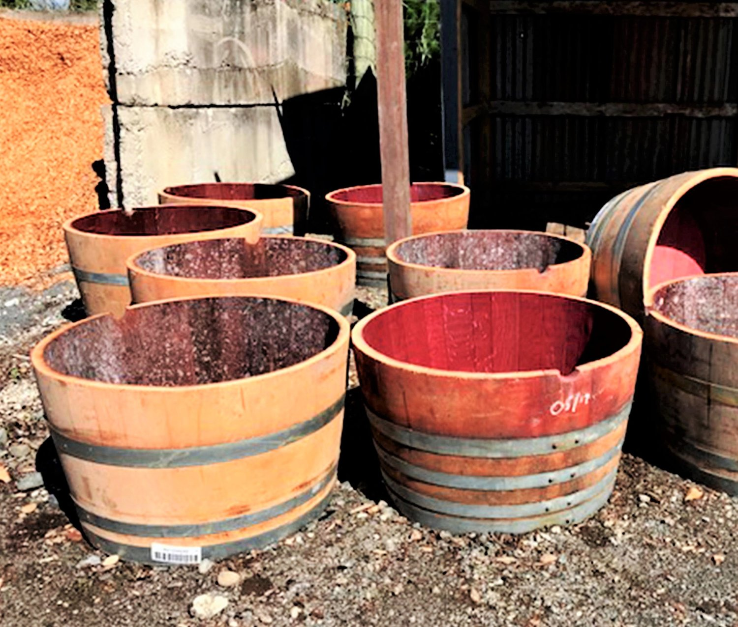 5 Steps To Prep A Half Wine Barrel Planter Complete Landscape Supplies