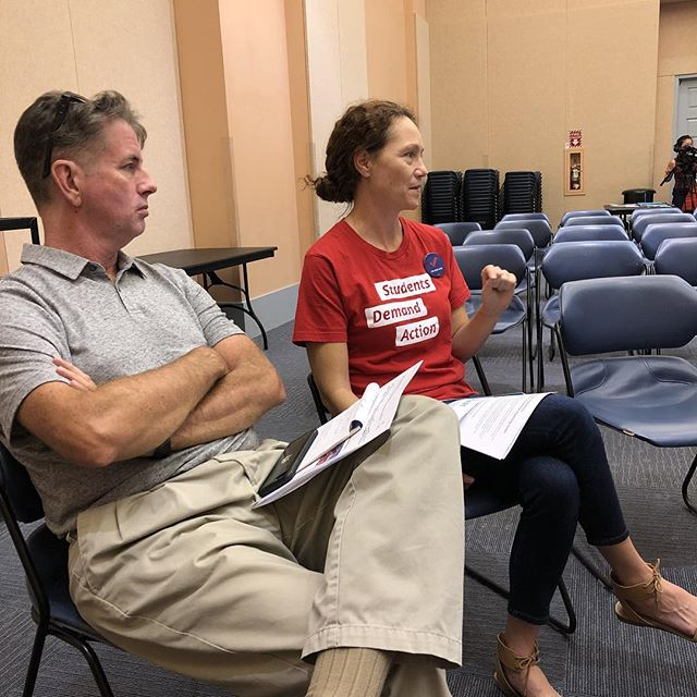 Life long NRA member found the Student's Demand Action at Palo Verde.  We need our laws to make sense.  #SchoolSafety #nved #Nvteach #guncontrol #gunsafety #Vegas #Nevada