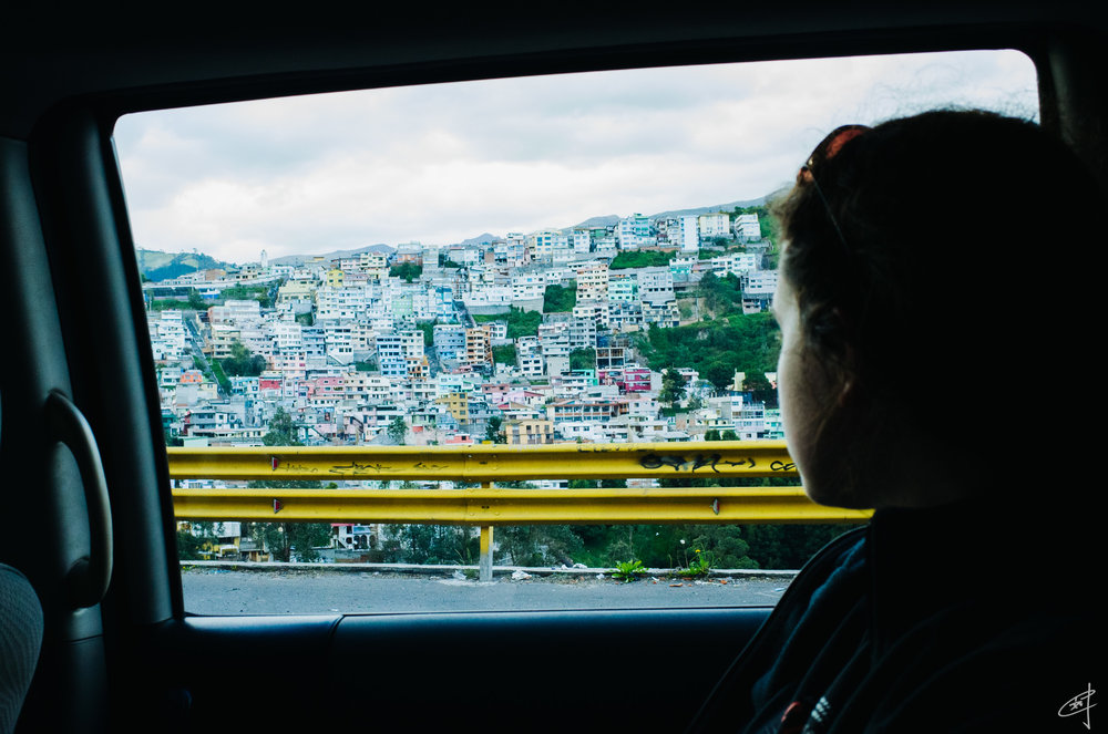 En route to Quito, 2018